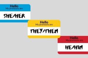 Pronoun Name Tags